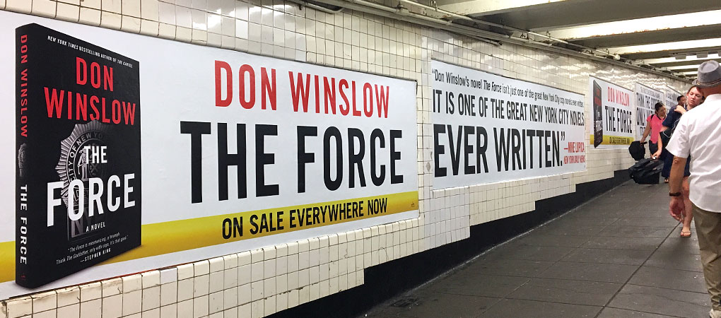 Don Winslow - The Force - West 4th Street subway station NYC