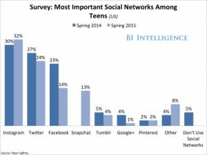 Teen Social Net Prefs