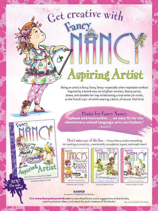fancy nancy aspiring artist
